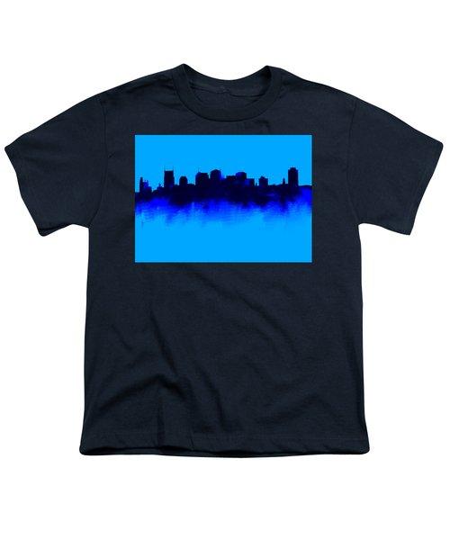 Nashville  Skyline Blue  Youth T-Shirt