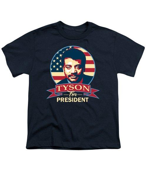 Neil Degrasse Tyson For President Youth T-Shirt