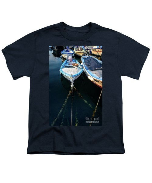 Old Fishing Boats Of The Adriatic Youth T-Shirt