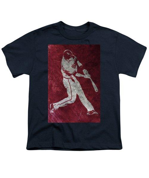 Paul Goldschmidt Arizona Diamondbacks Art Youth T-Shirt