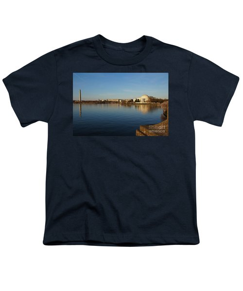 Reflections  Youth T-Shirt by Megan Cohen