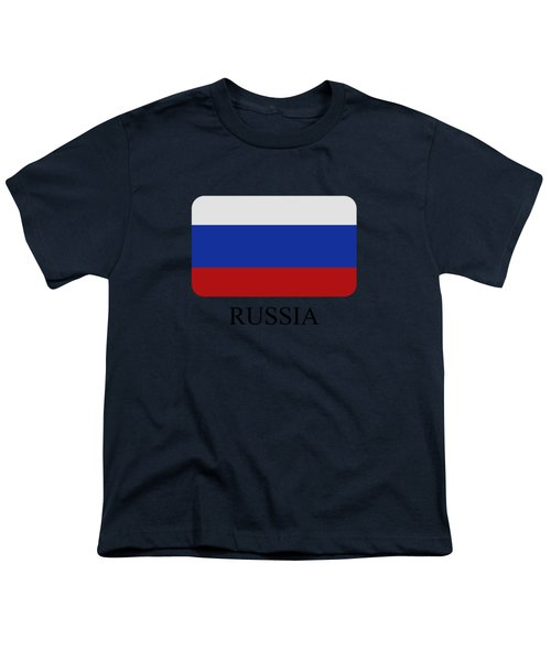 Russia Flag Youth T-Shirt