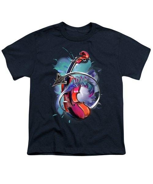 Sagittarius Youth T-Shirt by Melanie D