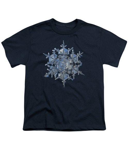 Snowflake Photo - Crystal Of Chaos And Order Youth T-Shirt