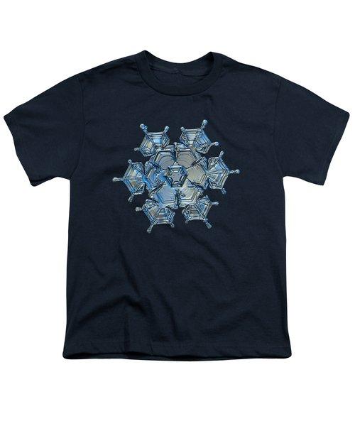 Snowflake Photo - Flying Castle Alternate Youth T-Shirt