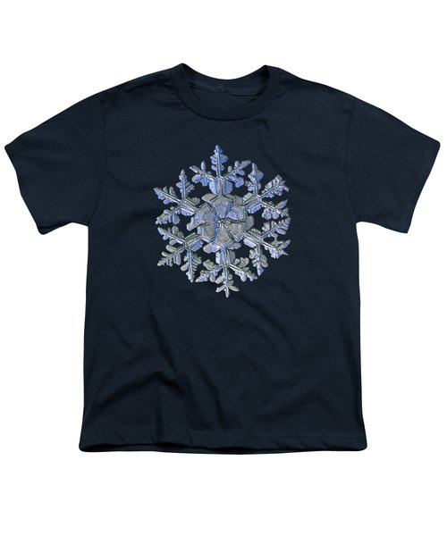 Snowflake Photo - Gardener's Dream Alternate Youth T-Shirt by Alexey Kljatov
