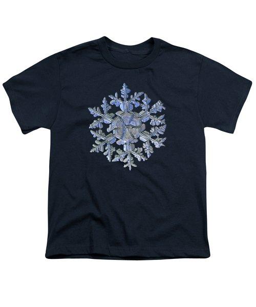 Snowflake Photo - Gardener's Dream Alternate Youth T-Shirt