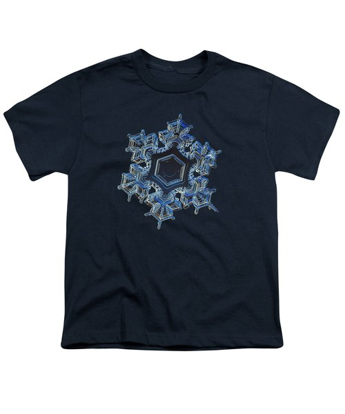 Snowflake Photo - Spark Youth T-Shirt by Alexey Kljatov