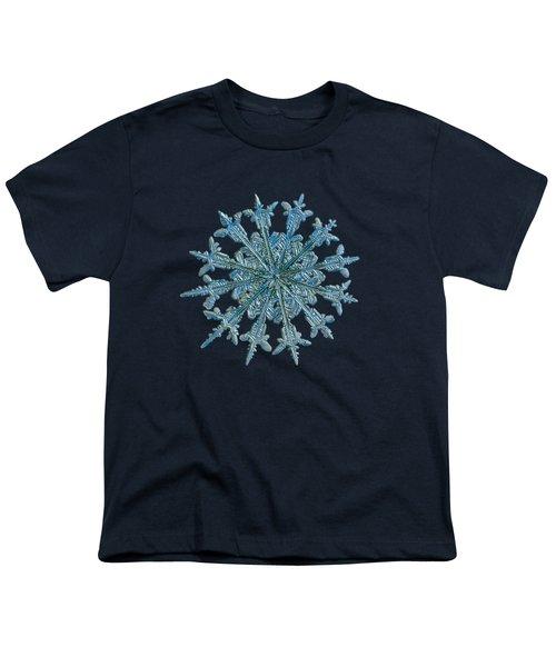 Snowflake Photo - Twelve Months Youth T-Shirt