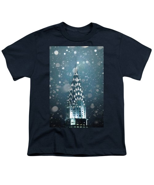 Snowy Spires Youth T-Shirt by Az Jackson