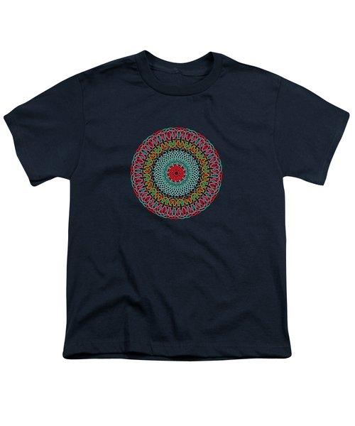 Sunflower Mandala Youth T-Shirt
