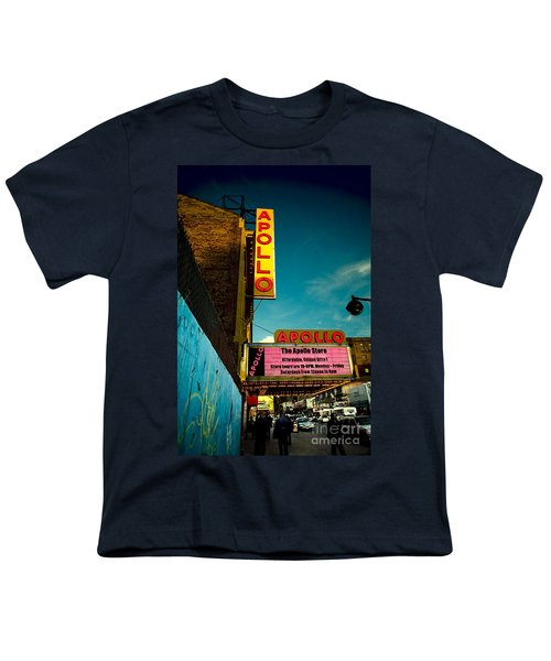 The Apollo Theater Youth T-Shirt by Ben Lieberman