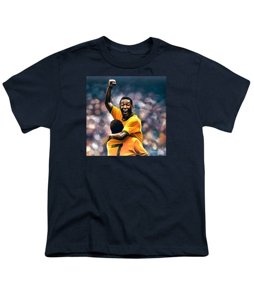 The Black Pearl Pele  Youth T-Shirt