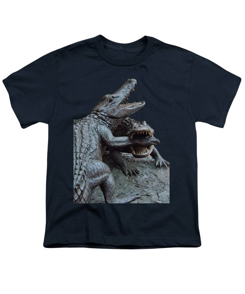 The Chomp Transparent For Customization Youth T-Shirt by D Hackett