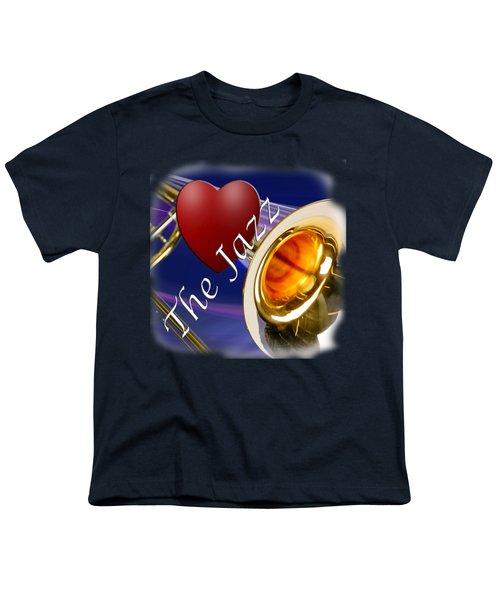 The Trombone Jazz 002 Youth T-Shirt
