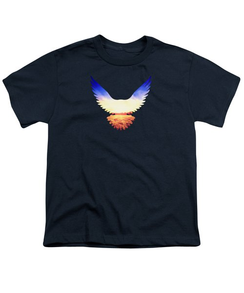 The Wild Wings Youth T-Shirt by Philipp Rietz