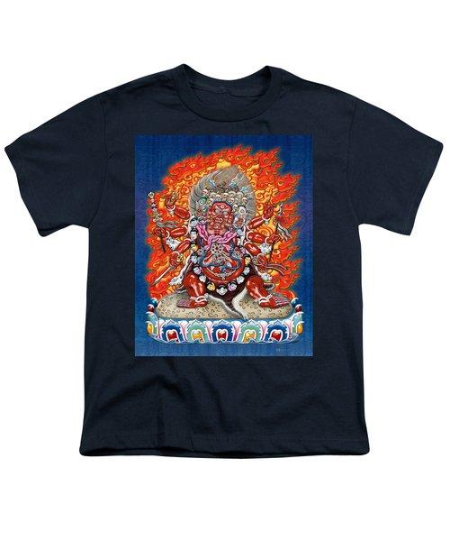Tibetan Thangka Remake - Hayagriva Youth T-Shirt