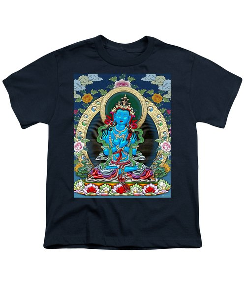 Tibetan Thangka -  Vajradhara Youth T-Shirt