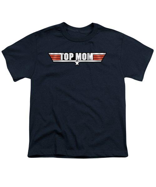 Top Mom Callsign Youth T-Shirt by Fernando Miranda