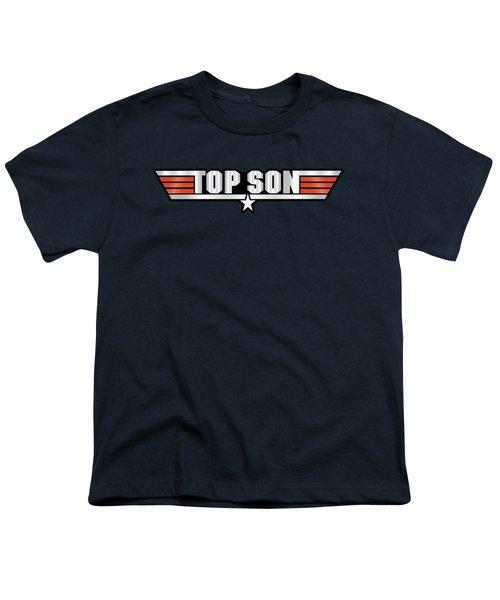 Top Son Callsign Youth T-Shirt by Fernando Miranda