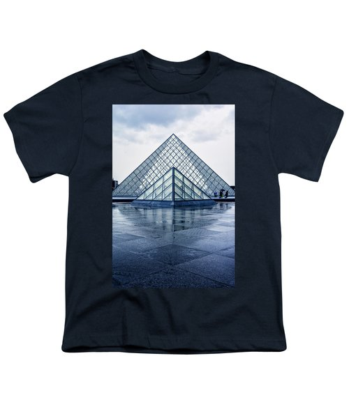 Two Louvre Pyramids Paris Youth T-Shirt