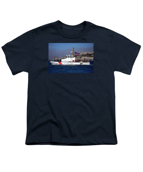 Uscg Hawksbill Patrols San Francisco Bay During Fleet Week Youth T-Shirt