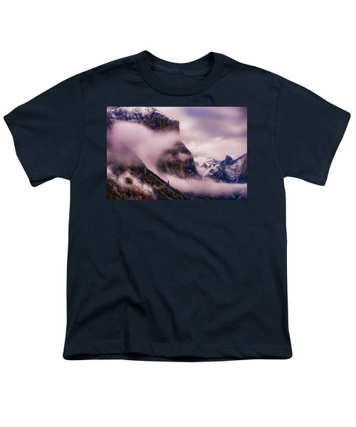 Valley Mood, Yosemite Youth T-Shirt by Vincent James