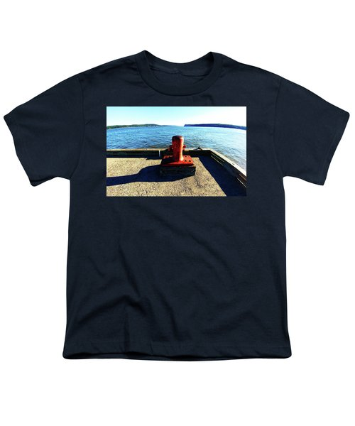Waiting For The Ship To Come In. Youth T-Shirt