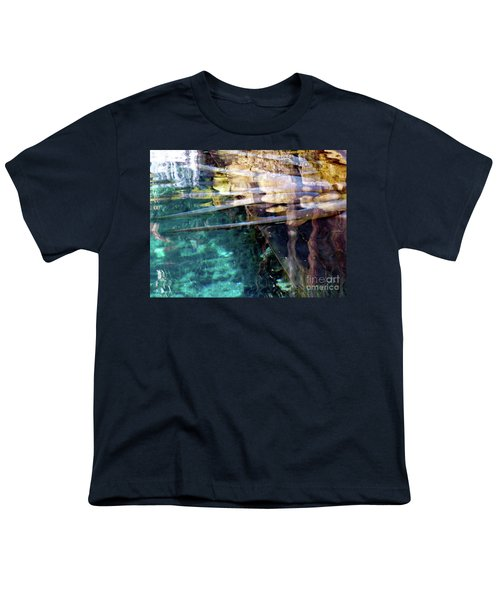 Youth T-Shirt featuring the photograph Water Reflections by Francesca Mackenney