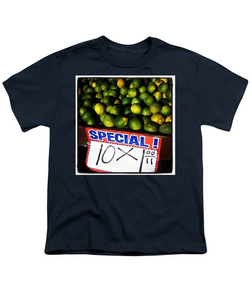 Youth T-Shirt featuring the photograph What Lime Shortage? #dontbelievethehype by Mr Photojimsf