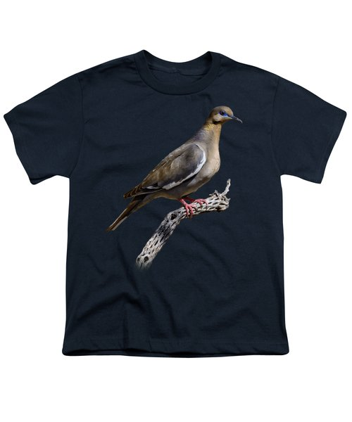 White-winged Dove V53 Youth T-Shirt