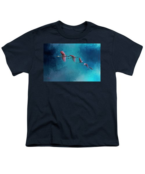 Wind Surfing Youth T-Shirt