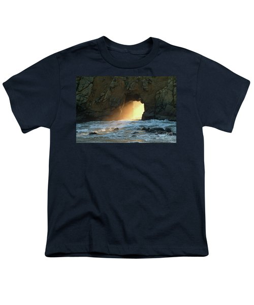Winter Solstice Sunset In Big Sur Youth T-Shirt