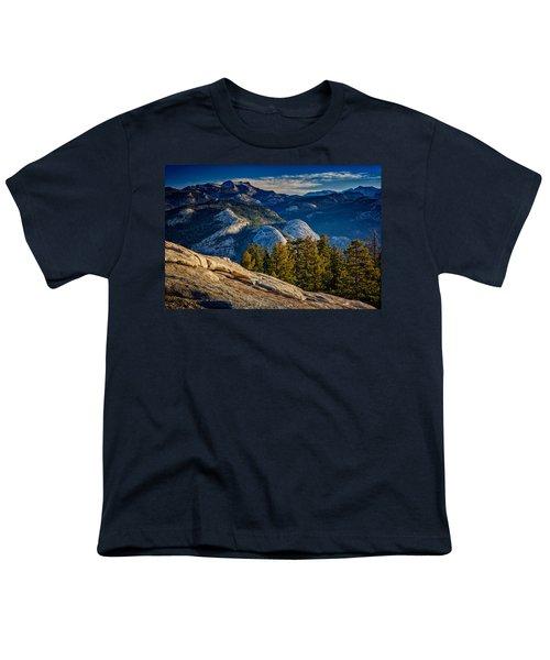 Yosemite Morning Youth T-Shirt by Rick Berk