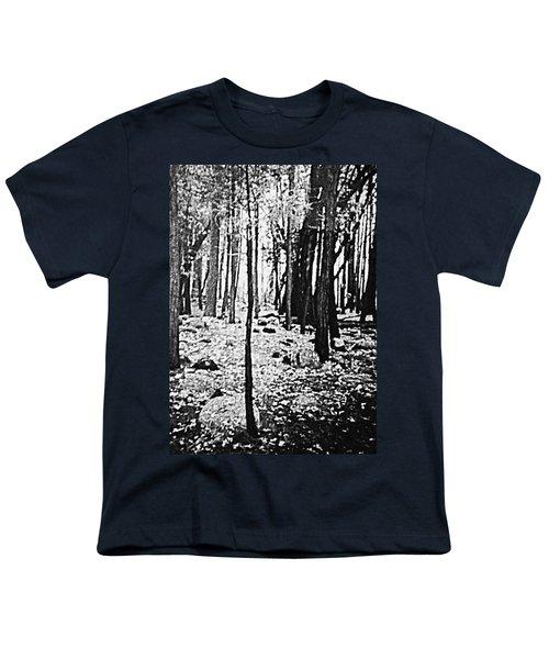 Yosemite National Park Youth T-Shirt by Debra Lynch