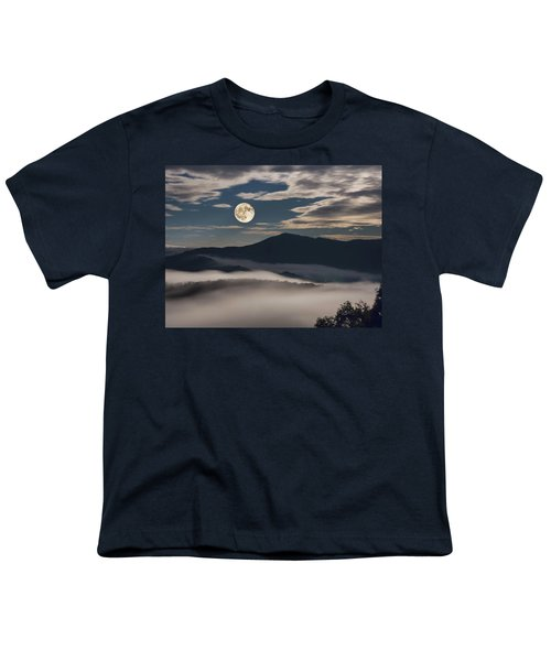 Dance Of Clouds And Moon Youth T-Shirt