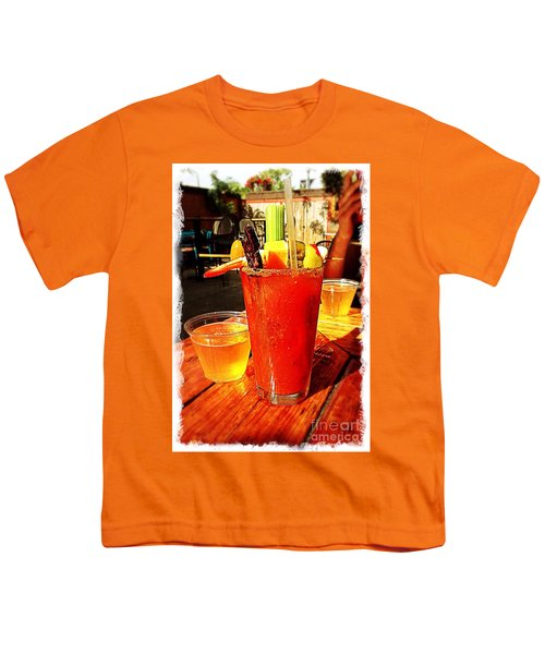 Morning Bloody Youth T-Shirt by Perry Webster