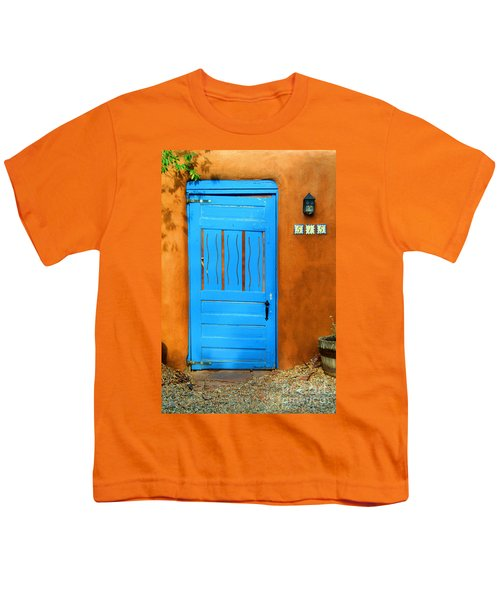 Blue Door In Santa Fe Youth T-Shirt