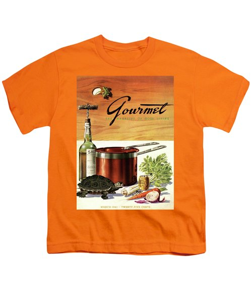 A Gourmet Cover Of Turtle Soup Ingredients Youth T-Shirt