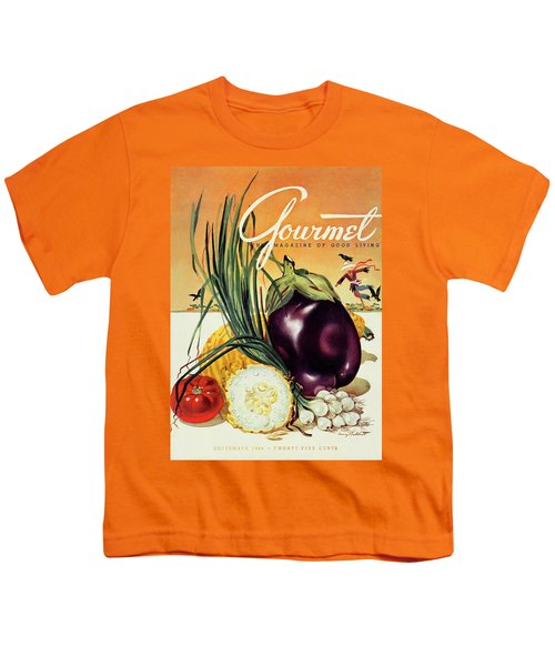 A Gourmet Cover Of Vegetables Youth T-Shirt