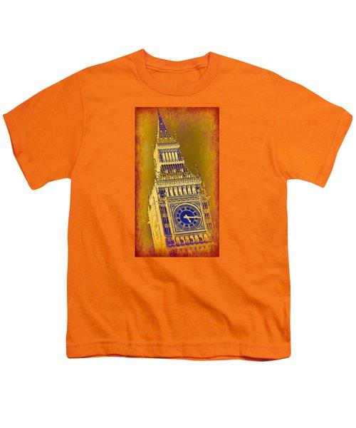 Big Ben 3 Youth T-Shirt by Stephen Stookey