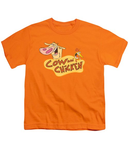 Cow And Chicken - Logo Youth T-Shirt