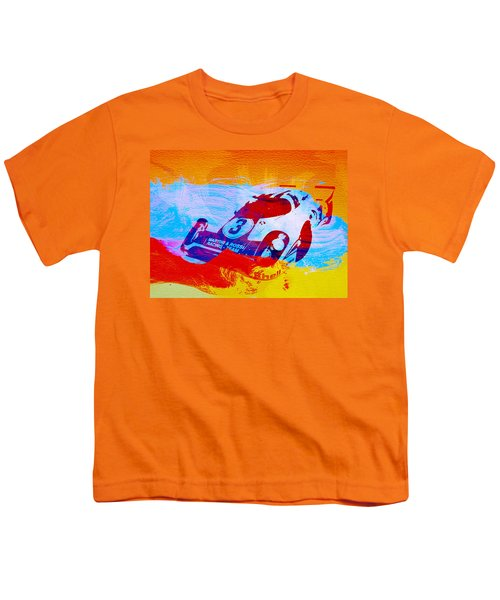 Porsche 917 Martini And Rossi Youth T-Shirt by Naxart Studio