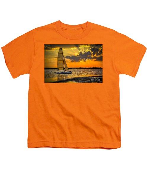 Sunset Sail Youth T-Shirt