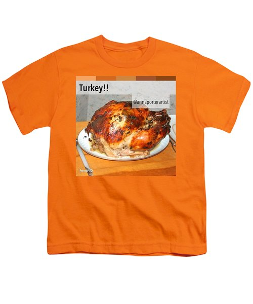 Turkey!! Cooked And Photographed By Youth T-Shirt