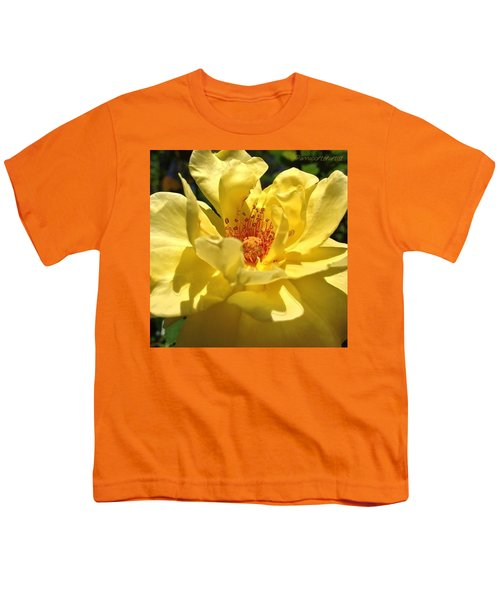 Yellow Monday Rose Youth T-Shirt