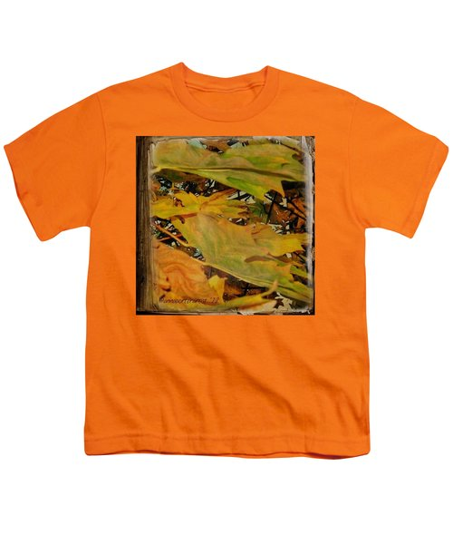 Book Of Leaves  Youth T-Shirt