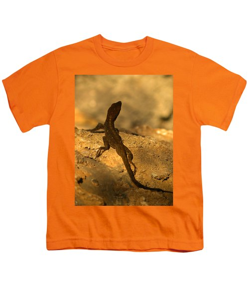 Leapin' Lizards Youth T-Shirt by Trish Tritz