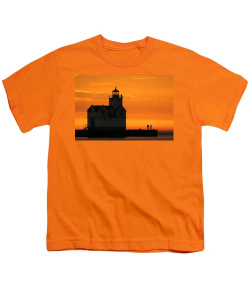 Morning Friends Youth T-Shirt by Bill Pevlor