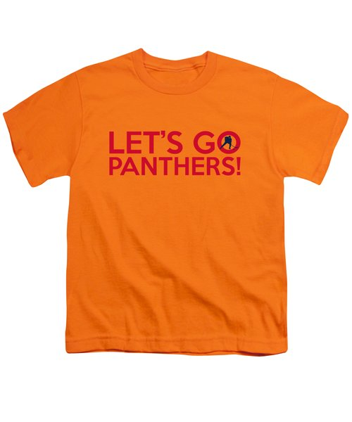Let's Go Panthers Youth T-Shirt